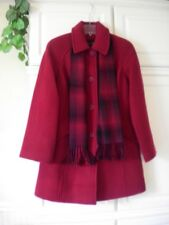 NWT EAST 5TH BRITISH RED SZ SMALL PEACOAT COAT  RETAILS $200