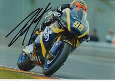 Louis Rossi mano firmado 7x5 Foto Tech 3 Moto 2 MotoGP 2.