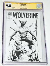 Wolverine 1 CGC 9.8 Sketch Cover signed by Jae Lee...RARE