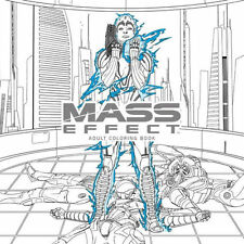 Mass Effect Adult Coloring Book BioWare Andromeda Cerebus Art Book New Mint