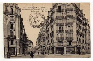 A1033) FRANCE 1922 PC Neuilly