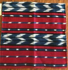 "Artisan Pillow Cover Sham Cotton Guatemalan Indigenous Hand Crafts 16""X16"""
