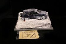 Braccio & Götz Limited Edition SNOW Mercedes Benz ML 320 1:18 Modellauto 25/150