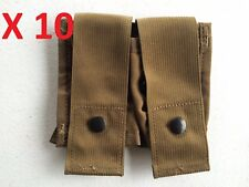 DEALER LOT 10 USMC MOLLE II DOUBLE 40MM HIGH EXPLOSIVE GRENADE POUCH COYOTE BRN