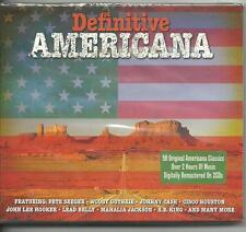 DEFINITIVE AMERICANA - 50 ORIGINAL AMERICANA CLASSICS - VARIOUS on 2 CD's - NEW