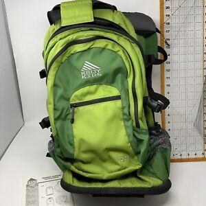 Kelty Kids TC 2.1 Transit Hiking Child Backpack Carrier Nylon Green Aluminum