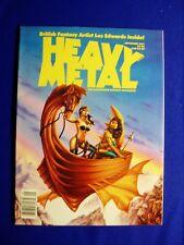 Heavy Metal September 1991. Gimenez, Kuper, Torres, Deadmoon. VFN/NM.