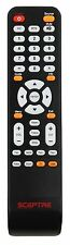SCEPTRE TV X32 Remote for X322BV-MQR X405BV-FMDU E243CV-FHD LCD LED HDTV TV