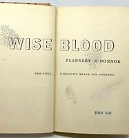 Flannery O'Connor - Wise Blood - True 1st 1st - First STATED - Southern Gothic