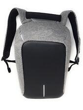 Anti Diebstahl Laptop Rucksack Laptoprucksack Laptopfach USB Grau Schwarz 13 L