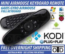 Raspberry Pi 3 Air Fly Mouse Mini Wireless Keyboard - KODI OSMC Win10 Android