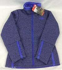The North Face Girls YOUTH Banderitas Full Zip Jacket Purple Heather XXS 5