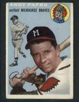 1954 Topps #79 Andy Pafko VGEX Braves 79905
