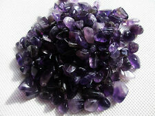 100g Natural Amethyst Quartz Crystal Rock Chips Healing GEMSTONE SPECIMEN