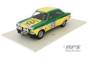 Opel Ascona A Walter Röhrl RAC Rallye Rally 1973 Irmscher Berger 1:18 BoS 307