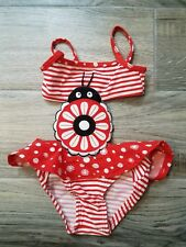 Koala Baby  Red and White Lady Bug Bathing Suit Swimsuit Size 6 Months