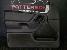 1999 JEEP GRAND CHEROKEE Driver Left Front Interior Door Trim Panel Agate AZ