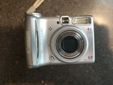 Canon PowerShot A540 6.0MP Digital Camera - Silver - With box & accessories