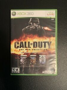 Call of Duty: The War Collection (Microsoft Xbox 360, 2010)
