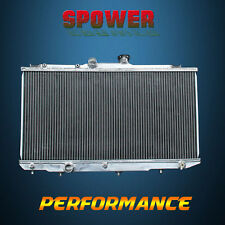 2-Row/CORE Aluminum Radiator For Toyota Corolla CE DX Geo Prizm LSi L4 93-97