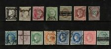 Spain 1850-  collection of 15.Used.Very Fine.