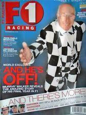 November F1 Racing Sports Magazines in English