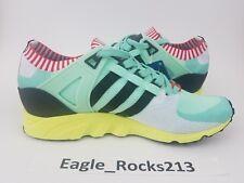 $160 Adidas EQT support 93 PK Mens Sz 9.5 Running Shoes Frozen Green BA7506