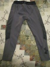 Under Armour Coldgear Reactor Gray/Black Long Underwear Boy's Size Small or 8