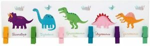 Sass & Belle Roarsome Dinosaurs Hanging Pegs, Child's Memo Board/Photo Display