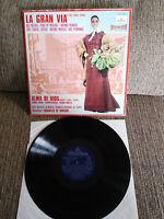 "Die Gran Via Operette Nati Mistral Perez Chueca 12 "" vinyl LP VG/VG 1969"