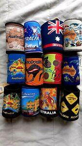 12 Australia Souvenir Stubby Holder Coolers New Great gift idea Mixed Design