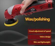 Car Polisher Waxer 12V Battery Adjustable Speed Portable Waxing Machine New