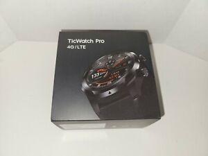 New Mobvoi TicWatch Pro Smartwatch, 4G/LTE, WF11026V - Black FAST SHIPPING
