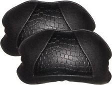 Adinox Car Seat Neck Cushion Pillow / Neck Rest Pure Black Color Set of 2 Pcs