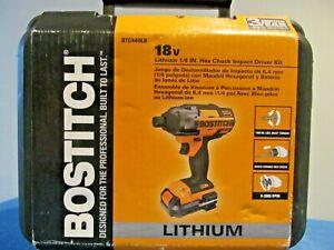 "NEW BOSTITCH BTC440LB 1/4"" HEX IMPACT DRIVER CORDLESS 18V LITHIUM VSR LED LIT"