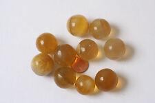 Fluorite (Yellow) Ball 21mm. 10 Piece Argentina k-0399/K