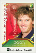 2007-08 Select Cricket Cards World Cup Hat Trick WSC20 Ian Harvey