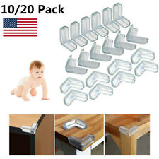 10/20 Table Corner Cushion Desk Edge Soft Protectors Baby Child Kids Safety Home
