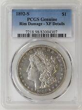 1892-S PCGS XF Details Morgan Silver Dollar Tough Date- I-13669