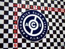 Adesivo ACI-FIAT 500 600 650 126 127 1500 1100 LANCIA