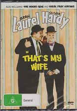LAUREL & HARDY - THAT'S MY WIFE - DVD  NEW -