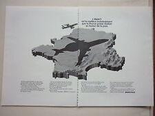 4/1982 PUB AVION BOEING AWACS E-3A RADAR FRANCE ARMEE DE L'AIR FRENCH AD