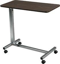 Drive Medical Bedside Overbed Table Senior Rolling Adult Desk Hospital Bed Tray