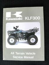 1986 1987 KAWASAKI KLF 300 KLF300 ATV UTILITY VEHICLE SERVICE REPAIR MANUAL