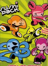 Sushi Pack sticker book RARE UNUSED