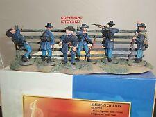 CONTE ACW57113 UNION FIGURES + TERRAIN BASE METAL TOY SOLDIER FIGURE SET