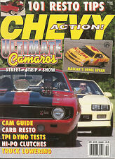 Chevy Action Mag - Oct 1992 - Ultimate Camaros - Ernie Irvan - 1956 1963 Chevy
