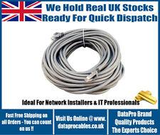 Nuevo Medidor Gris 5M CAT6 Cable Ethernet Internet RJ45 Cable de conexión al aire libre de plomo