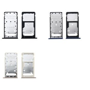 Sim Card Tray Holder Micro SD Slot Holder For Huawei Y7 2017 / Y7 Prime 2017