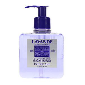L'Occitane Cleansing Lavender Liquid Hand Soap 10.1 oz